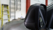 3M1080 Black Carbon Fiber Mirror Wraps