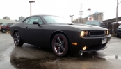 3M 1080 Matte Black Wrap Dodge Challenger